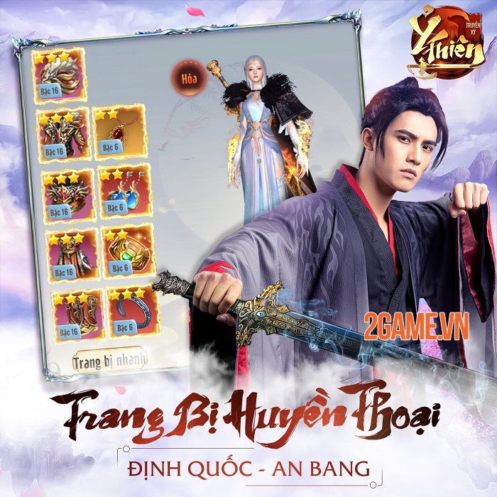 Ỷ Thiên Truyền Kỳ GOSU - Kiệt tác kiếm hiệp Võ Lâm trên mobile sắp ra mắt 4