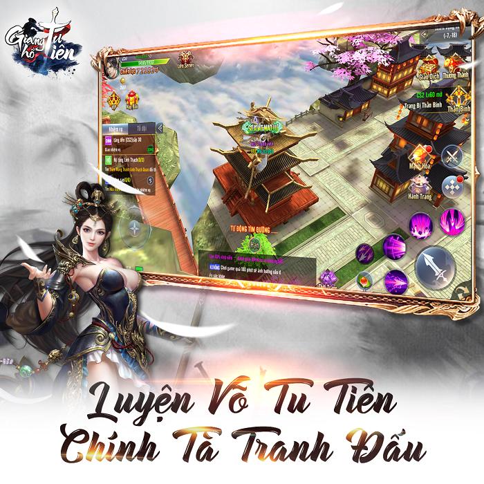 Game nhập vai Giang Hồ Tu Tiên Mobile ấn định ngày ra mắt chính thức 1