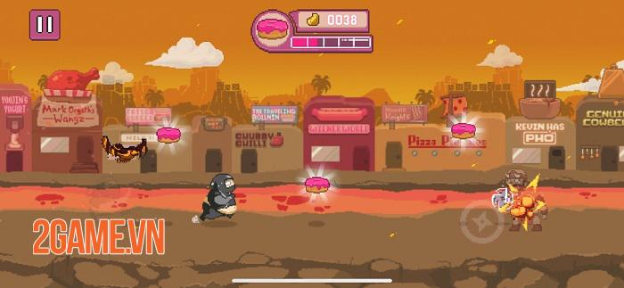 Ninja Chowdown - Đồ họa hào nhoáng và lối chơi auto-runner tiết tấu nhanh 0