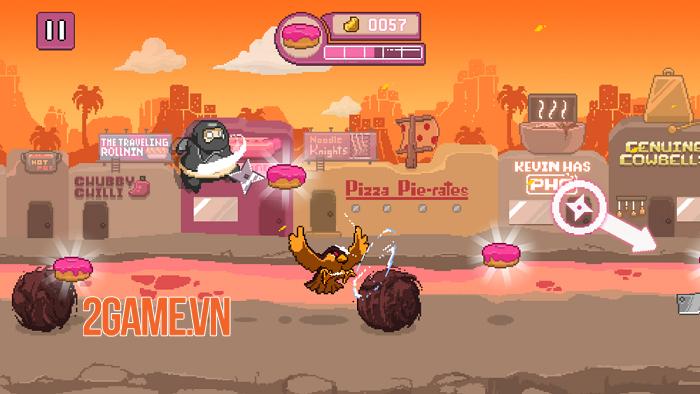 Ninja Chowdown - Đồ họa hào nhoáng và lối chơi auto-runner tiết tấu nhanh 1