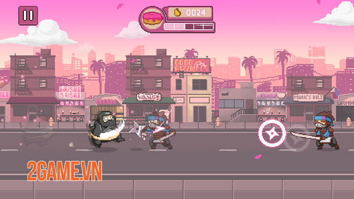 Ninja Chowdown - Đồ họa hào nhoáng và lối chơi auto-runner tiết tấu nhanh 2