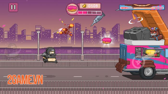Ninja Chowdown - Đồ họa hào nhoáng và lối chơi auto-runner tiết tấu nhanh 4