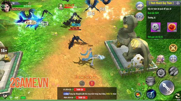 Cộng đồng game thủ Giang Hồ Tu Tiên thích mê nhiều chi tiết tinh tế trong game 3