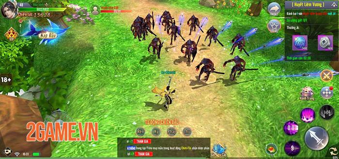 Cộng đồng game thủ Giang Hồ Tu Tiên thích mê nhiều chi tiết tinh tế trong game 4