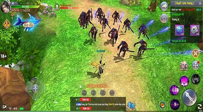 Cộng đồng game thủ Giang Hồ Tu Tiên thích mê nhiều chi tiết tinh tế trong game