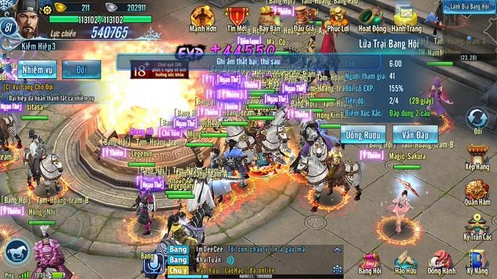 Võ Lâm Truyền Kỳ Mobile: Nội chiến thành viên thứ 21 1