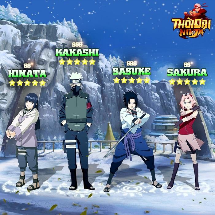 Funtap tặng giftcode mừng Thời Đại Ninja chính thức ra mắt 3