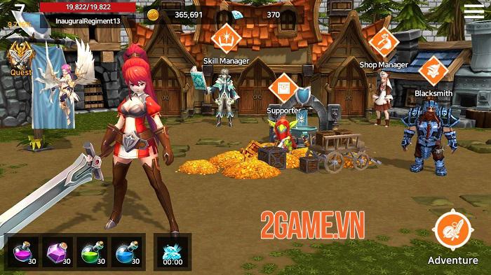 The Legend of Dragon - Game nhập vai có lối chơi tự động chiến đấu đơn giản 0