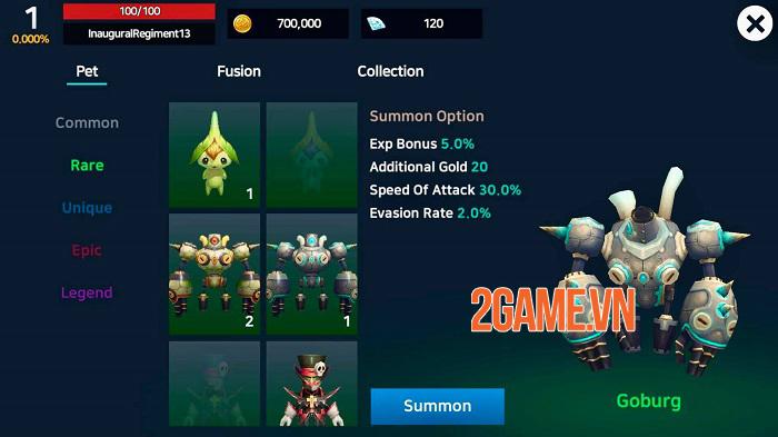The Legend of Dragon - Game nhập vai có lối chơi tự động chiến đấu đơn giản 2