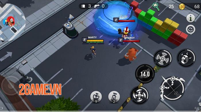 Battlepalooza - Game battle royale đưa địa điểm trong thế giới thực vào bản đồ 0