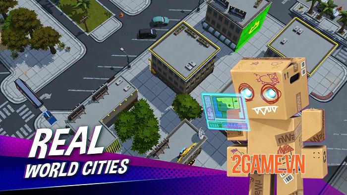 Battlepalooza - Game battle royale đưa địa điểm trong thế giới thực vào bản đồ 2