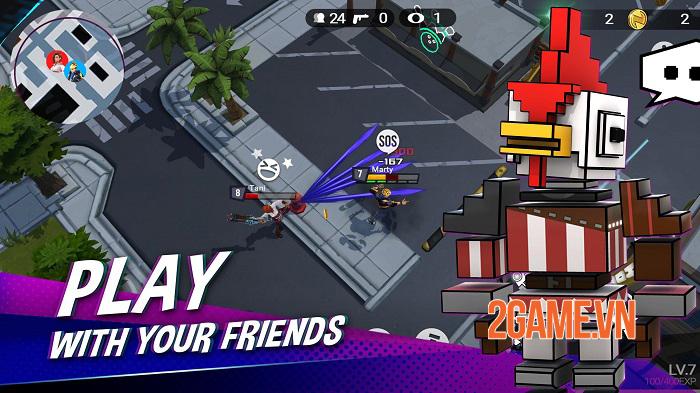 Battlepalooza - Game battle royale đưa địa điểm trong thế giới thực vào bản đồ 1