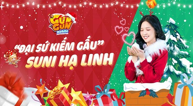 Suni Hạ Linh trở thành Đại Sứ Kiếm Gấu của Gun Gun Mobile