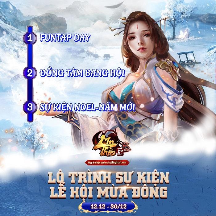 Ma Thần Tam Quốc chơi lớn với chuỗi sự kiện Lễ Hội Mùa Đông tháng 12 0