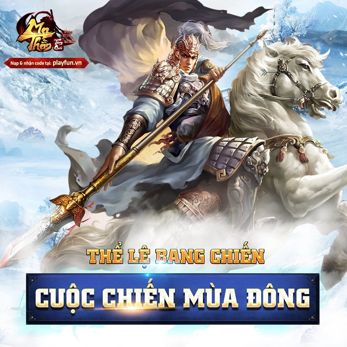 Ma Thần Tam Quốc chơi lớn với chuỗi sự kiện Lễ Hội Mùa Đông tháng 12 3