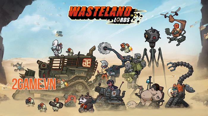 Game chiến thuật Wasteland Lords Mobile chính thức ra mắt toàn cầu 0