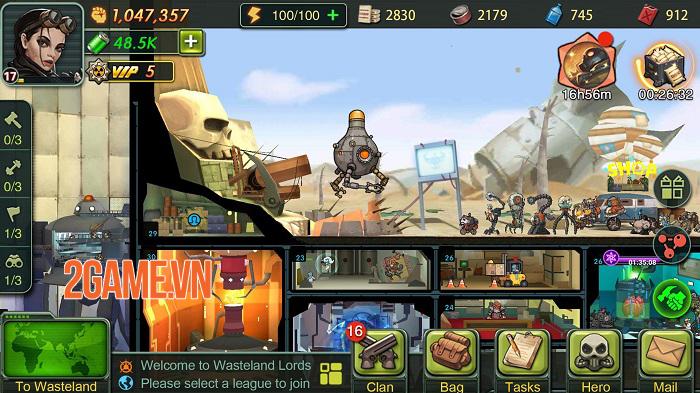 Game chiến thuật Wasteland Lords Mobile chính thức ra mắt toàn cầu 2