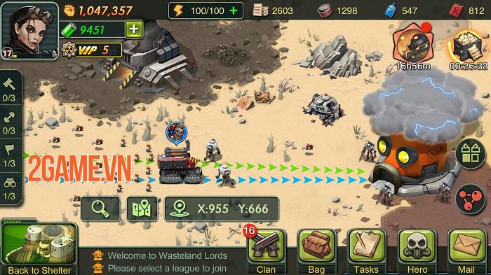 Game chiến thuật Wasteland Lords Mobile chính thức ra mắt toàn cầu 1