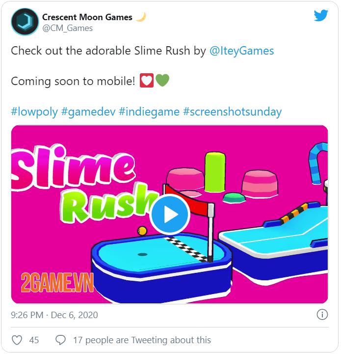 Slime Rush - Game vượt chướng ngại vật siêu đáng yêu sắp ra mắt 0