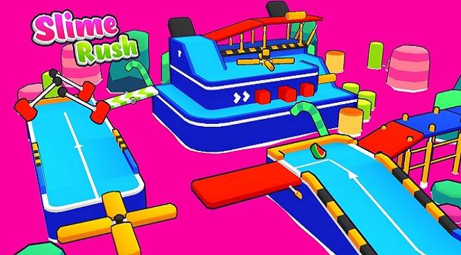 Slime Rush – Game vượt chướng ngại vật siêu đáng yêu sắp ra mắt