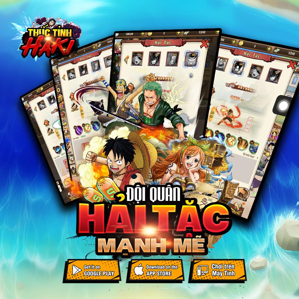 Game mobile đề tài One Piece Thức Tỉnh Haki công bố lộ trình ra mắt 3