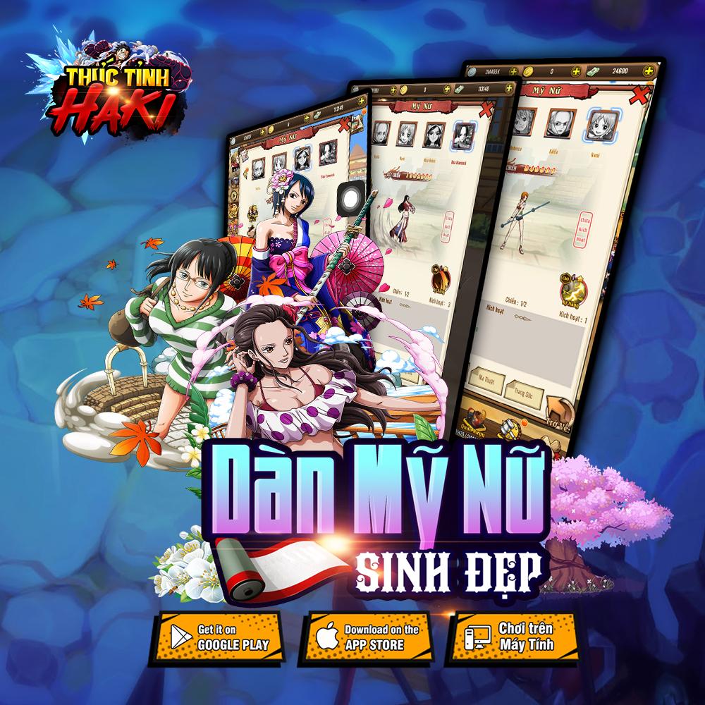 Game mobile đề tài One Piece Thức Tỉnh Haki công bố lộ trình ra mắt 4
