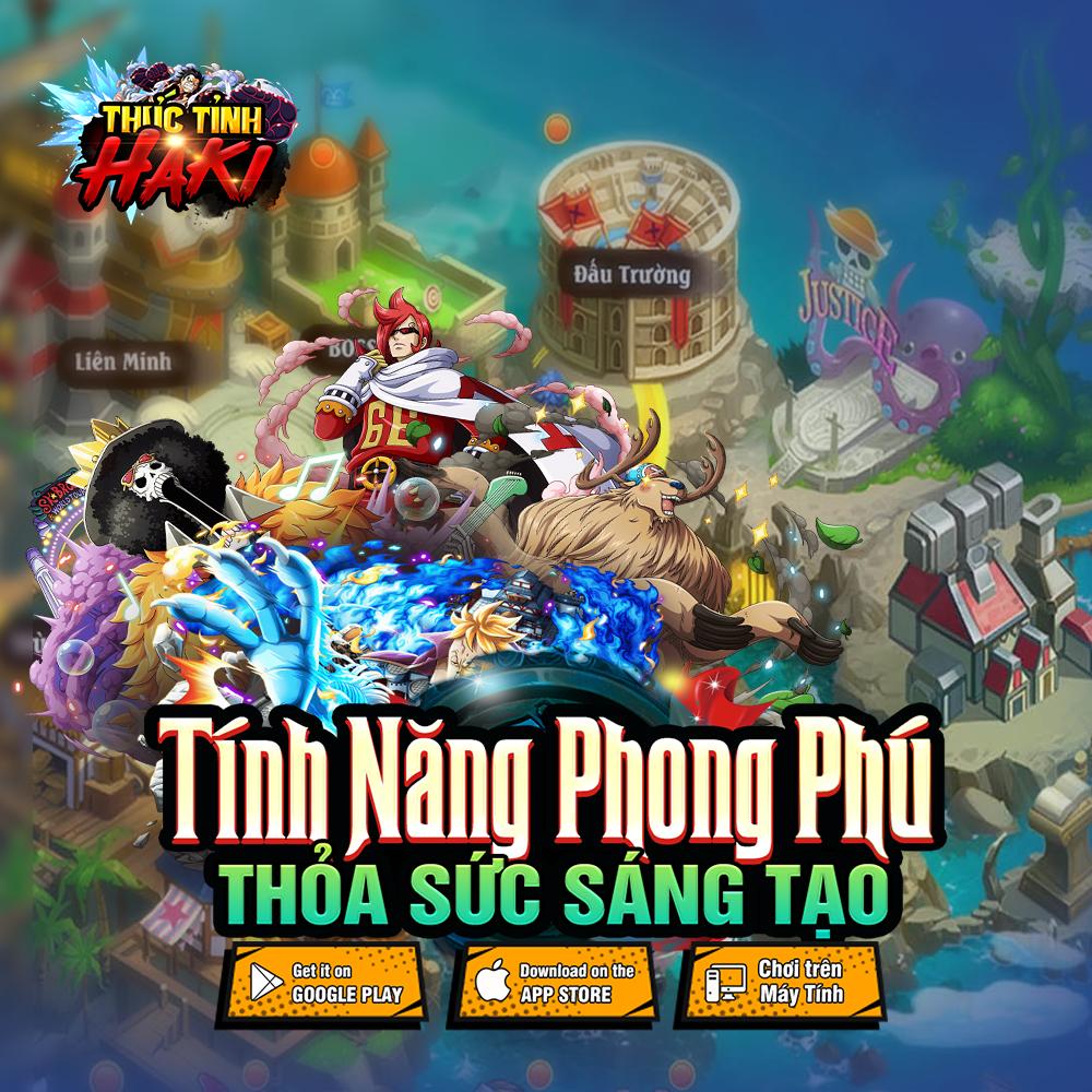 Game mobile đề tài One Piece Thức Tỉnh Haki công bố lộ trình ra mắt 7