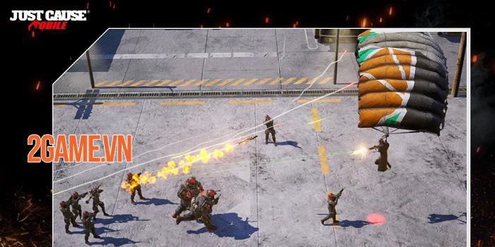 Just Cause: Mobile - Game bắn súng góc nhìn từ trên xuống của Square Enix 0