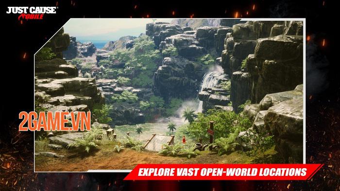 Just Cause: Mobile - Game bắn súng góc nhìn từ trên xuống của Square Enix 1