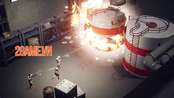 Just Cause: Mobile - Game bắn súng góc nhìn từ trên xuống của Square Enix 2