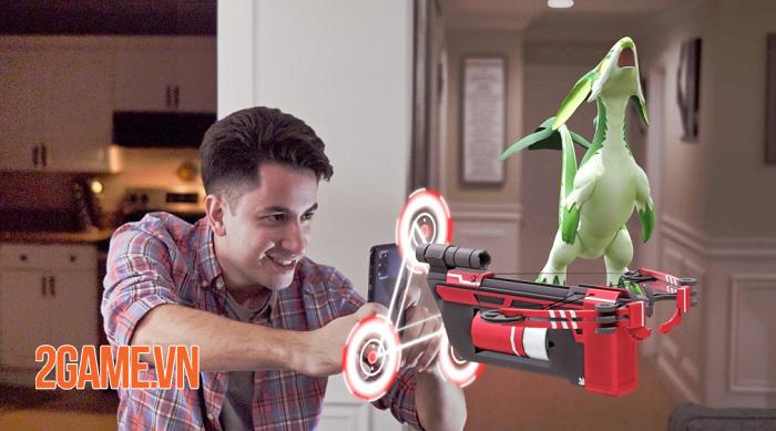 Leap Trigger - Game bắn súng dùng AR biến phòng khách thành đấu trường 1