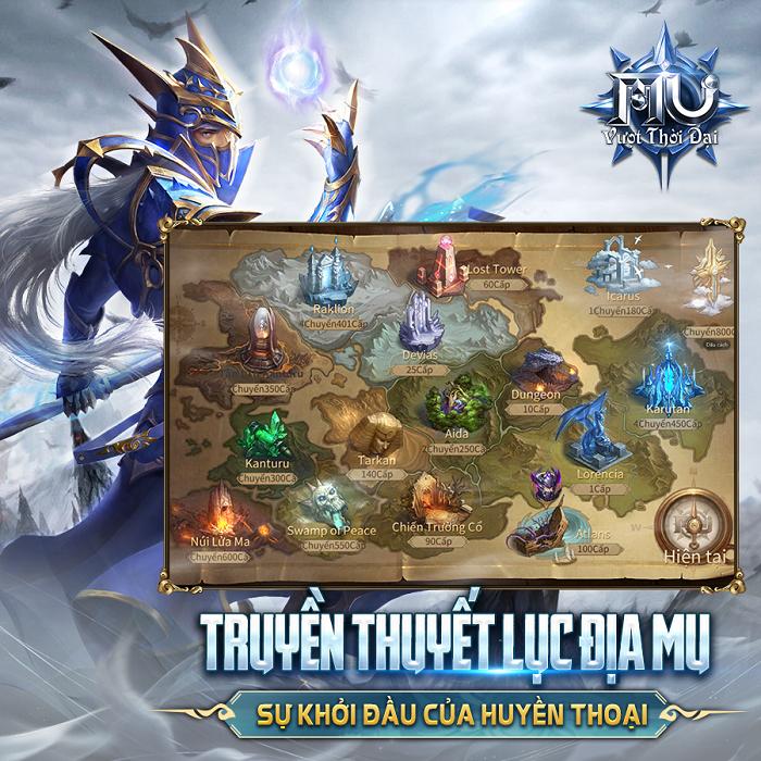 MU: Vượt Thời Đại trở thành tâm điểm làng game với hàng triệu đăng kí trước 3