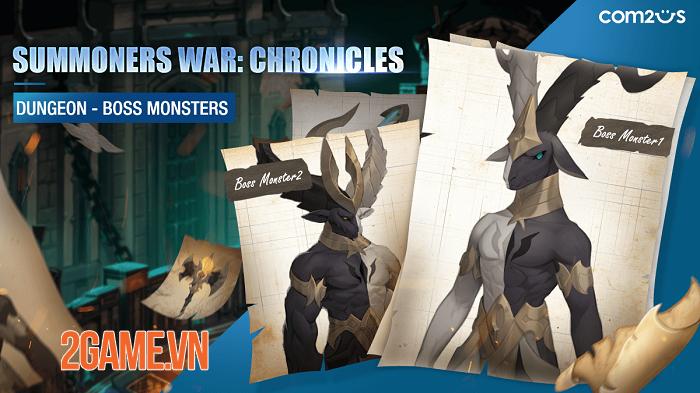 Summoners War: Chronicles phô diễn đồ họa phong cách hoạt hình sống động 2
