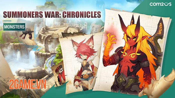 Summoners War: Chronicles phô diễn đồ họa phong cách hoạt hình sống động 0