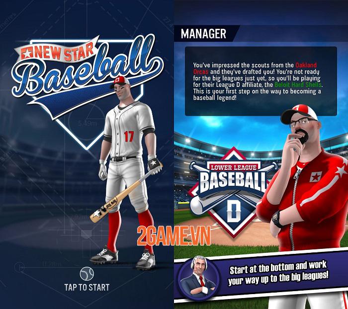 Game mobile đề tài thể thao New Star Baseball ra mắt trên Google Play 1