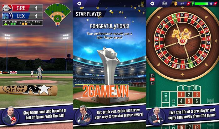 Game mobile đề tài thể thao New Star Baseball ra mắt trên Google Play 2