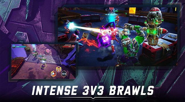Marvel Realm of Champions – Game MOBA 3v3 đã có sẵn toàn cầu cho iOS và Android