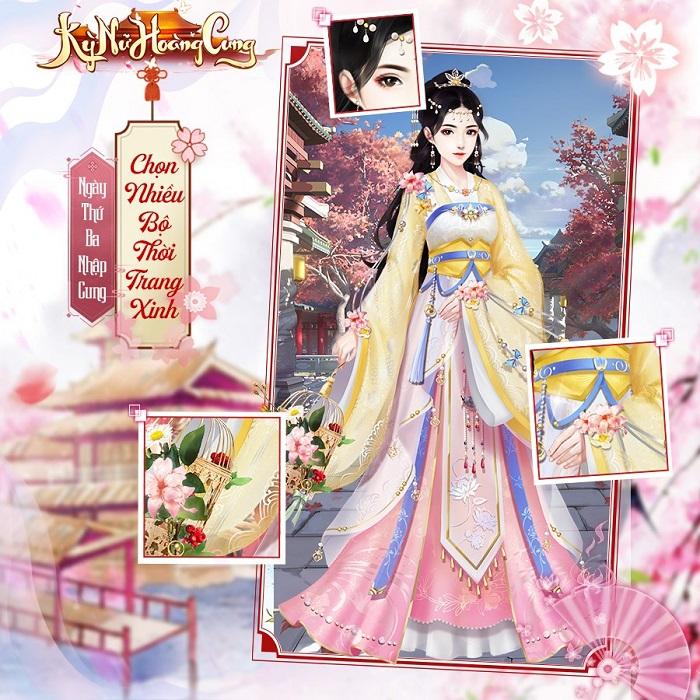 Kỳ Nữ Hoàng Cung có hệ thống thời trang đẹp lộng lẫy và cực kỳ hoành tráng 1