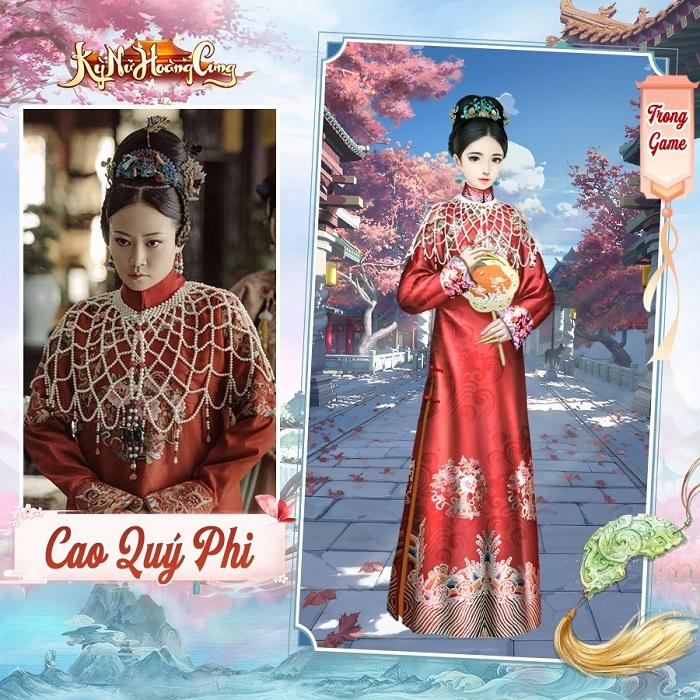 Kỳ Nữ Hoàng Cung có hệ thống thời trang đẹp lộng lẫy và cực kỳ hoành tráng 4