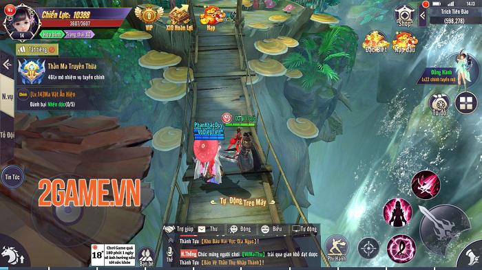 Thương Khung Chi Kiếm - Tuyệt tác tiên kiếm hiệp chuẩn chỉnh từ đồ họa đến gameplay 2
