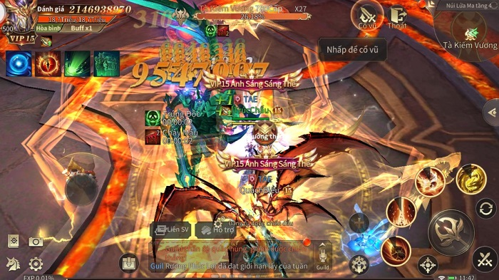 MU Vượt Thời Đại - Huyền thoại game nhập vai công bố lộ trình ra mắt 2