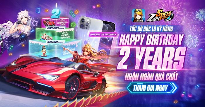 ZingSpeed Mobile tổ chức tiệc sinh nhật 2 tuổi chất như nước cất 2