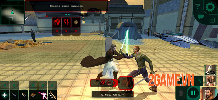 Star Wars Knights of the Old Republic II: The Sith Lords chính thức ra mắt 1