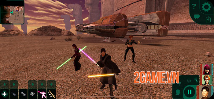 Star Wars Knights of the Old Republic II: The Sith Lords chính thức ra mắt 2