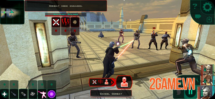 Star Wars Knights of the Old Republic II: The Sith Lords chính thức ra mắt 3