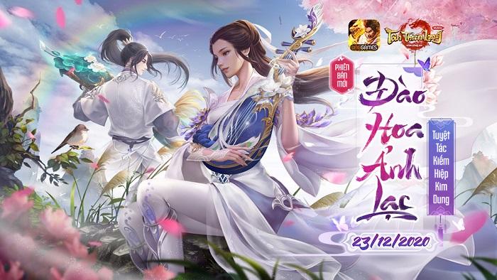 Phiên bản mới Đào Hoa Ảnh Lạc khiến Tân Thiên Long Mobile thêm thú vị 0