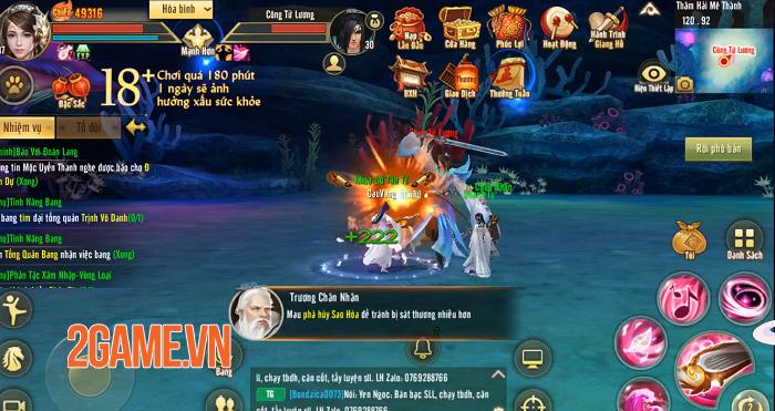 Phiên bản mới Đào Hoa Ảnh Lạc khiến Tân Thiên Long Mobile thêm thú vị 7