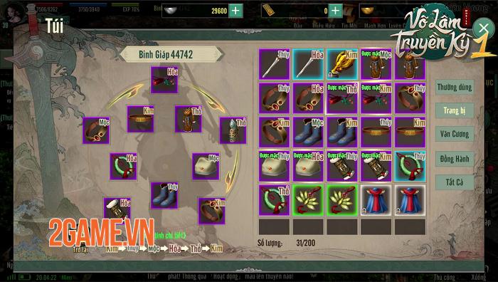 Võ Lâm Truyền Kỳ 1 Mobile viết tiếp huyền thoại 15 năm chí tại Võ Lâm 4