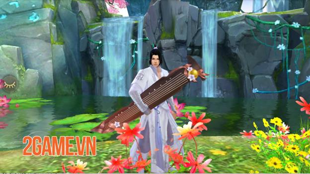 Môn phái Đào Hoa nửa chính nửa tà dễ thu hút game thủ Tân Thiên Long Mobile 2