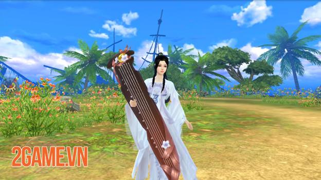 Môn phái Đào Hoa nửa chính nửa tà dễ thu hút game thủ Tân Thiên Long Mobile 1